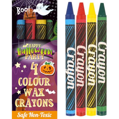 Halloween Wax Crayons ( x 4)