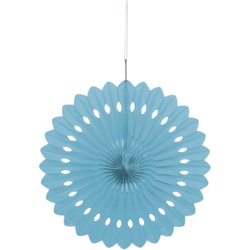 Powder Blue Decorative Fan 40cm