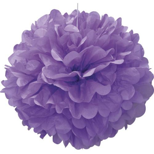 Pretty Purple Pom Pom 40cm