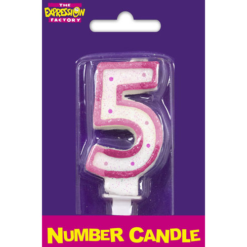 Pink Candle No. 5