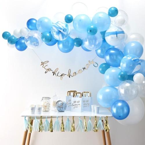 Blue Balloon Arch
