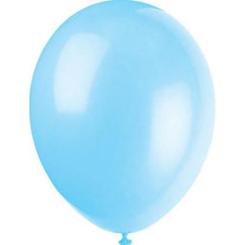 Cool Blue Balloons ( x 10)