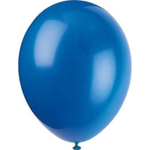 Evening Blue Balloons ( x 10)