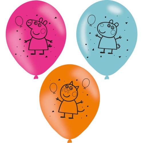 Peppa Pig Balloons X 6