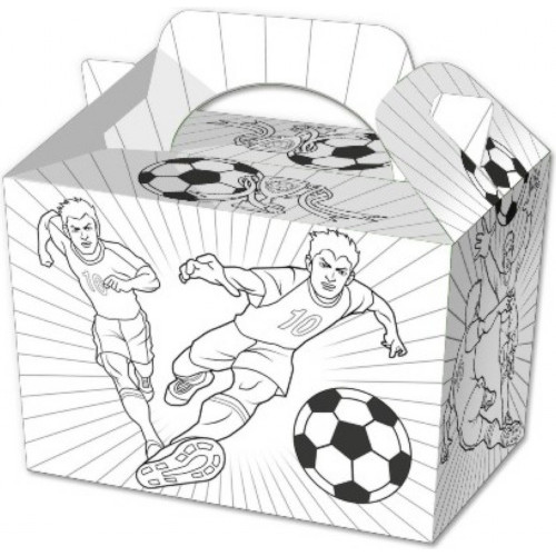 Football Colour In Party Box