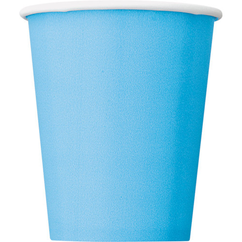 Powder Blue Cups ( x 14)