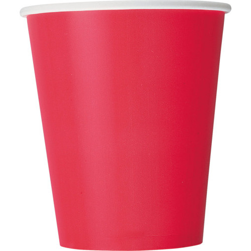 Ruby Red Cups ( x 14)