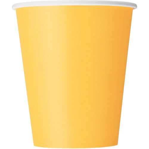 Sunflower Yellow Cups ( x 14)