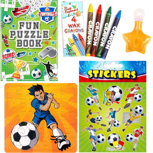 Football Filled Party Bag D