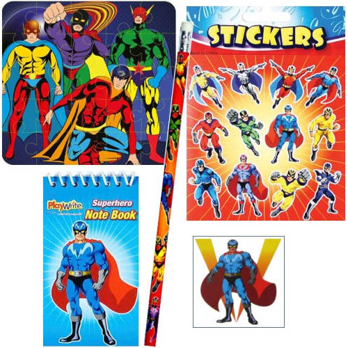 Super Hero Filled Party Bag B