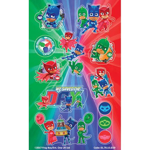 PJ Masks Sticker Sheets ( x 6)