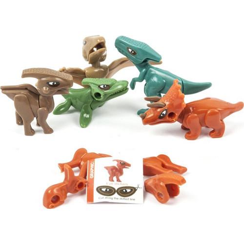 Dinosaur Kit & Stickers
