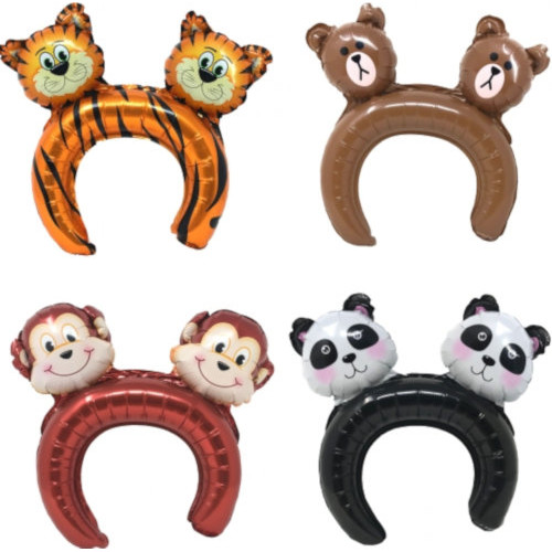 Jungle Inflatable Headband ( x 12)