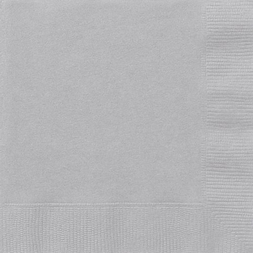 Silver Napkins ( x 20)