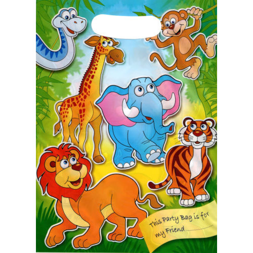 Zoo Party Bags ( x 8)