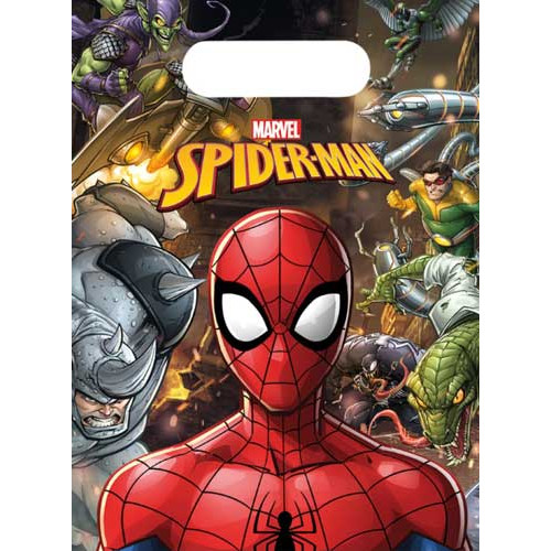 Spiderman Team Up Party Bags ( x 6)
