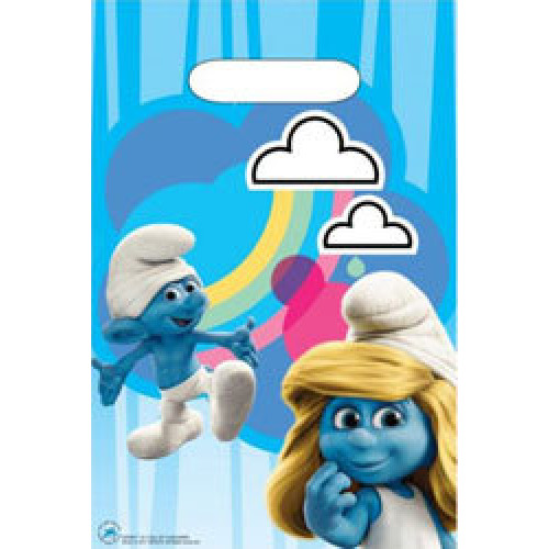 Smurfs Party Bags ( x 8)