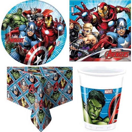 Mighty Avengers Party Pack (8 Guest)