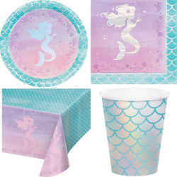 Mermaid Shine Party Pack (8 Guest)