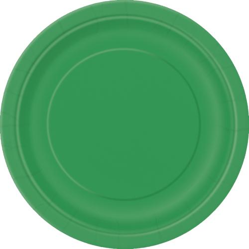 Emerald Green Plates 22cm ( x 16)