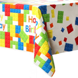 Building Bricks Table Cover