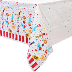 Circus Carnival Table Cover