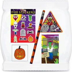 HALLOWEEN FILLED PARTY BAGS