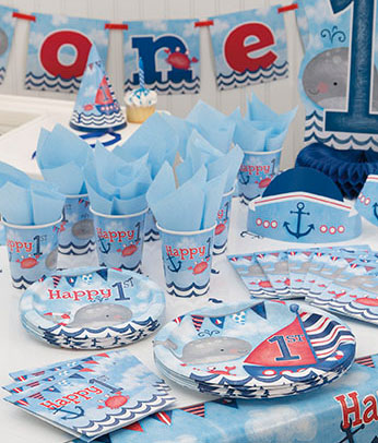 Buy Nautical 1st Birthday Party Supplies Online UK